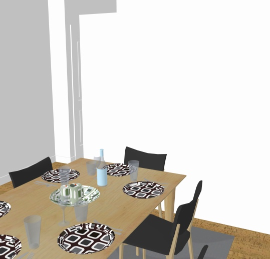 Before dining space